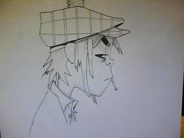 Gorillaz-2D by MutilatedEnigma