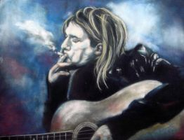 Feeling Blue - Cobain by astarvinartist