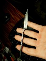 Little knife 100% hand made by BergOpZoom