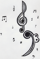 Musical Notes by cromsifing