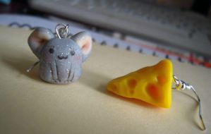 Mouse'n'cheese by Wohald