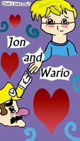 Jon X Wario (plz dont kill me) by melossa10