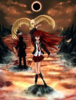 Manga cover: Shadow of the Immortals by Lady-Azaleia