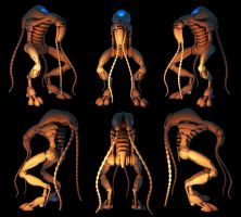 Tentacled 3d w.i.p by voodoq