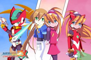 .: Megaman ZX Cronichles : Ciel and Aile (fm) :. by Sincity2100