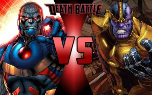 DEATH BATTLE: Darkseid vs Thanos by G-Odzilla