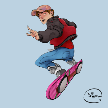 Marty McFly by tomaytoTOMAHTO