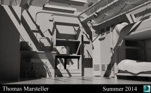 Project 3 3DS Max Modeling Principles by xXMawZXx