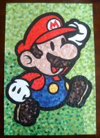Paper Mario Mosaic by KeybladeMaster1