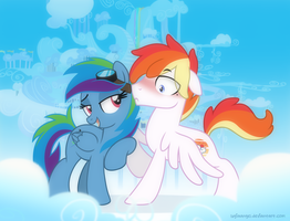 Rainbow Dash Parents - Genderbenders by LugiaAngel