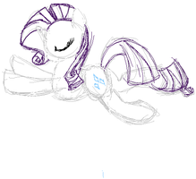 Silly Rarity by SJArt117