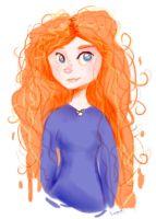 Merida by FluffySora
