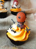 Tobi cupcake by I-am-Ginger-Pops
