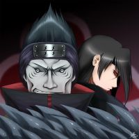 Kisame and Itachi by the-speed-demon