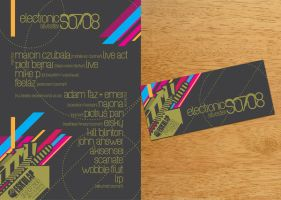 nye poster + ticket by 5liter