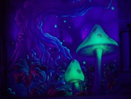 magic mushrooms by TomLenz