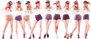SNSD I Got A Boy render by classicluv
