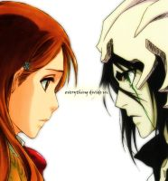 everything divide us. by BillieFeng