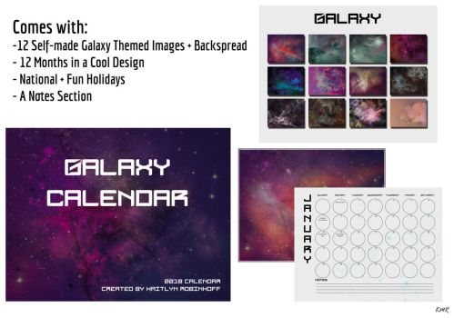 Galaxy Calendar by NightmareZanez