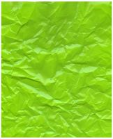 Lime Green Crinkle by webgoddess