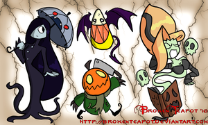 Spooky Halloween thing by BrokenTeapot