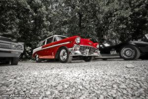 red 56 Chevy by AmericanMuscle