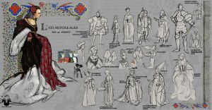 Costume Class: Middle Ages by Rockman0