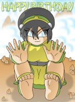 Birthday Gift - Toph by XJKenny