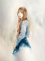 Watercolor practice by Anapath