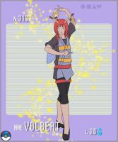 Gijinka Pokemon- Volbeat by Song64
