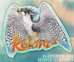 KEIANZA BADGE by blazegryph