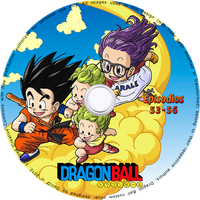 Dragon Ball (Remastered) Custom label -DVD 13/37 by postalesdeamor