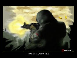For My Country by kerissakti