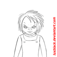 Angry Chucky animation by LuxBlack