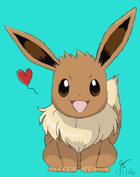 Eevee by ThatCharizardGuy