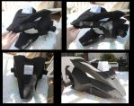 Lightning Saix redone- Head WIP 1 by MidnightLiger0