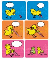 Chicks by hanno