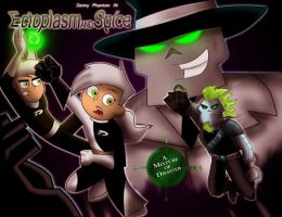 Title Card- EctoplasmANDSpice by DannyPhantomAddict