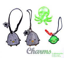 acrylic Charms part 5 by Greencherryplum