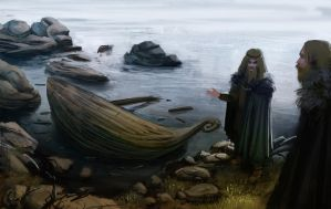 boat's wrecked by Detkef