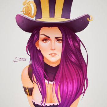 Caitlyn by simoneferriero