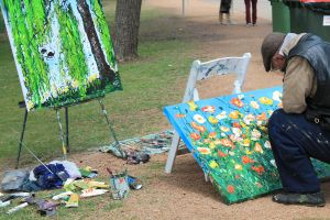 The Artist by buttons-and-bicycles