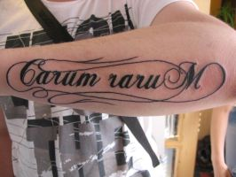 carum rarum by inkfusiontattoo