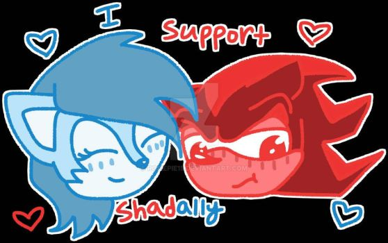 Sonic ships- Shadally by rosiepie15