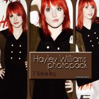 +Hayley Williams Photopack #OO2. by MrsHendersonWay