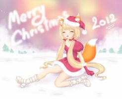 Merry Christmas 2012 by Chichanan