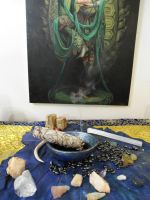 Offering Smudge Bowl by Phaedris