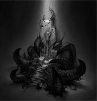 Corrupted Throne by HippyHoudini