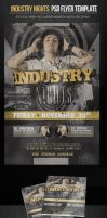 Industry Nights Party Flyer Template by ImperialFlyers