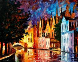 Northern Venice by Leonidafremov